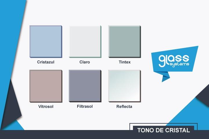 Color de cristal para canceles